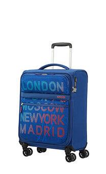 a210122b9 American Tourister Matchup Spinner Print TSA 55cm City Map Blue