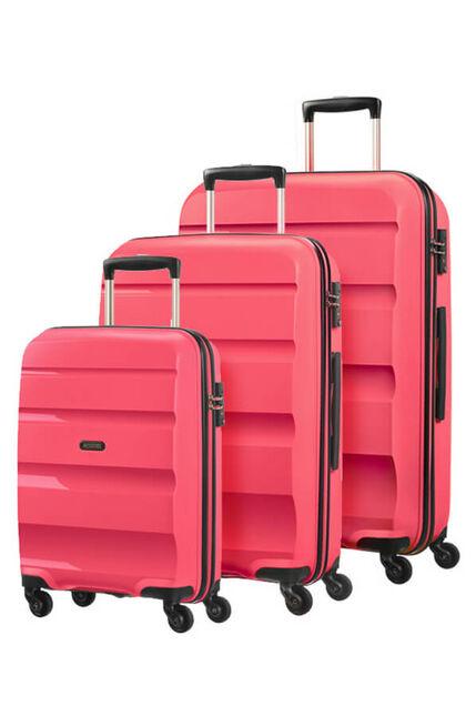 Bon Air Set: Spinner 55cm, Spinner 66cm & Spinner 75cm  Fresh Pink