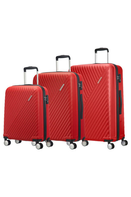 Visby 3 PC SET A  Energetic Red