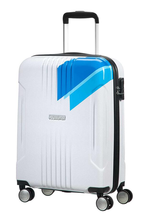 Tracklite maleta spinner 4 ruedas 55cm american tourister - Maletas blue star ...