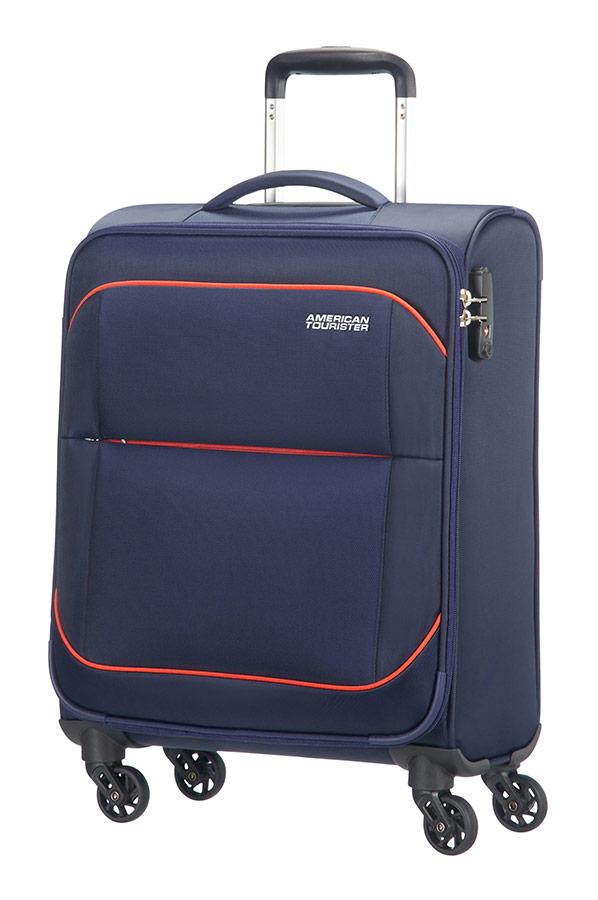 Sunbeam maleta spinner 4 ruedas 55cm american tourister - Maletas blue star ...