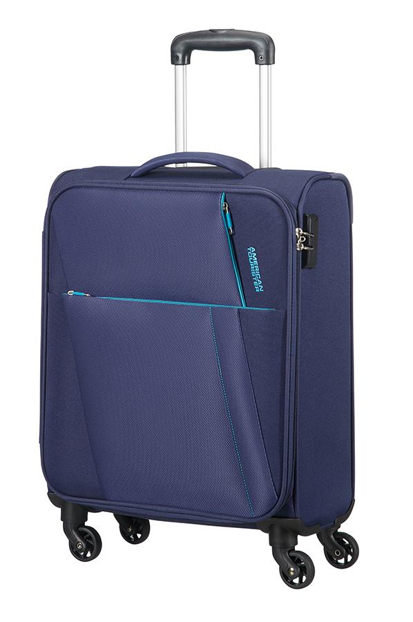 Joyride maleta spinner 4 ruedas 55cm american tourister - Maletas blue star ...