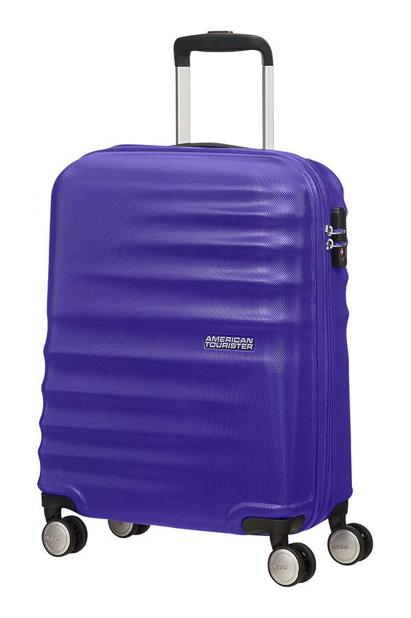 Wavebreaker maleta spinner 4 ruedas 55cm american - Maletas blue star ...